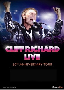 Cliff Richard live: 60:th anniversary tour